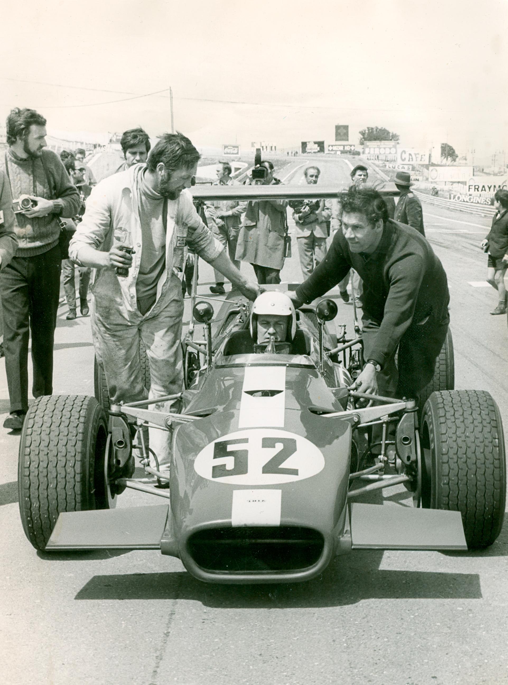 Circuito del Jarama - 1969 - Lola-F5000