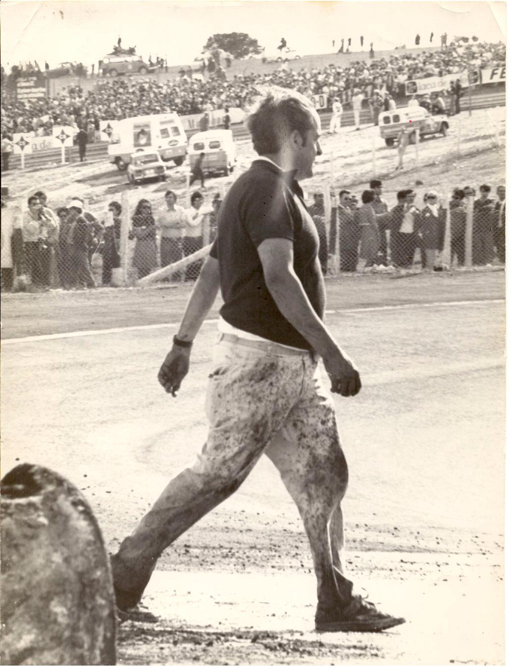 Circuito del Jarama - 1970 - Andrés Mas - Incendio