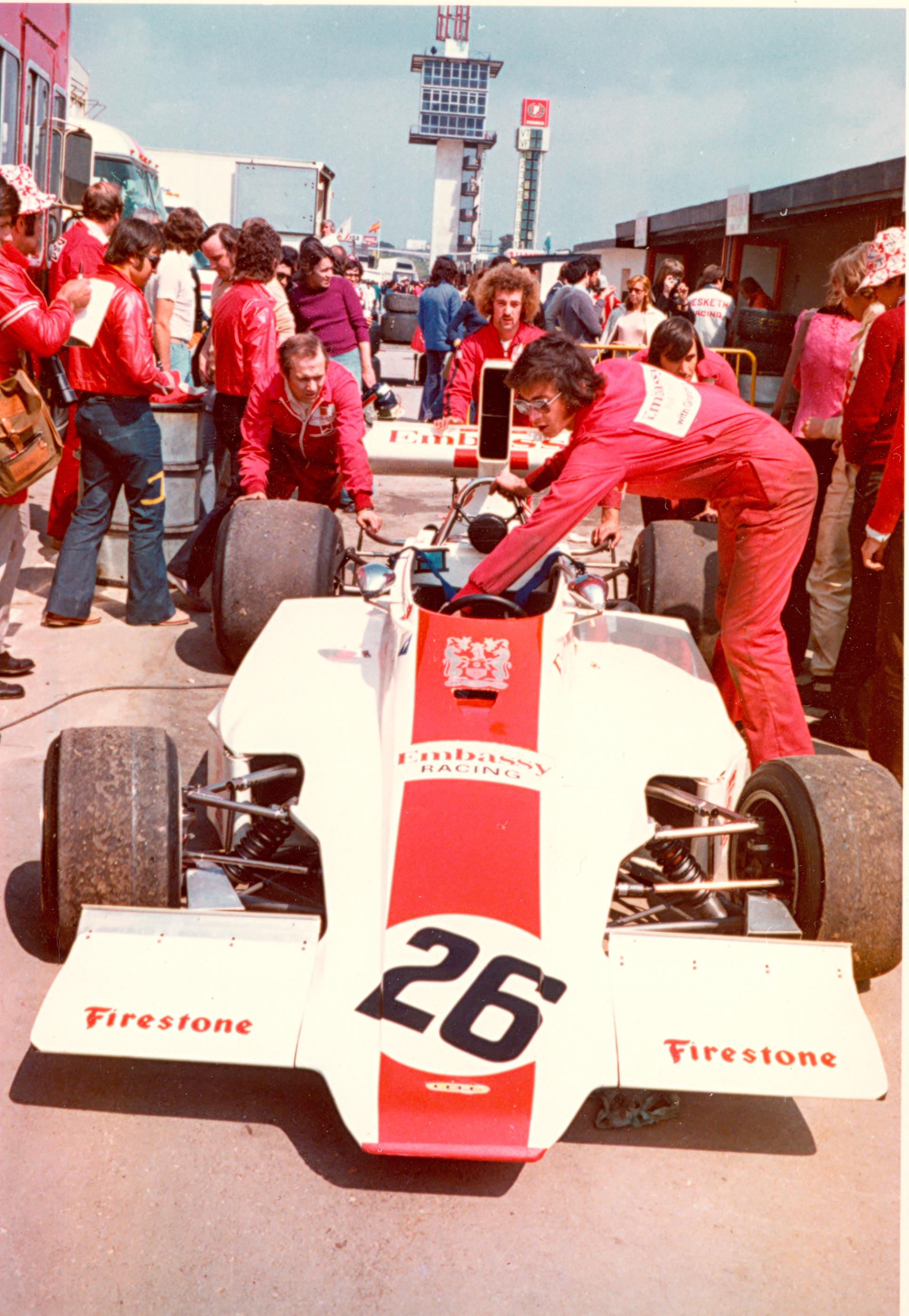 Circuito del Jarama - 1974 - Graham Hill
