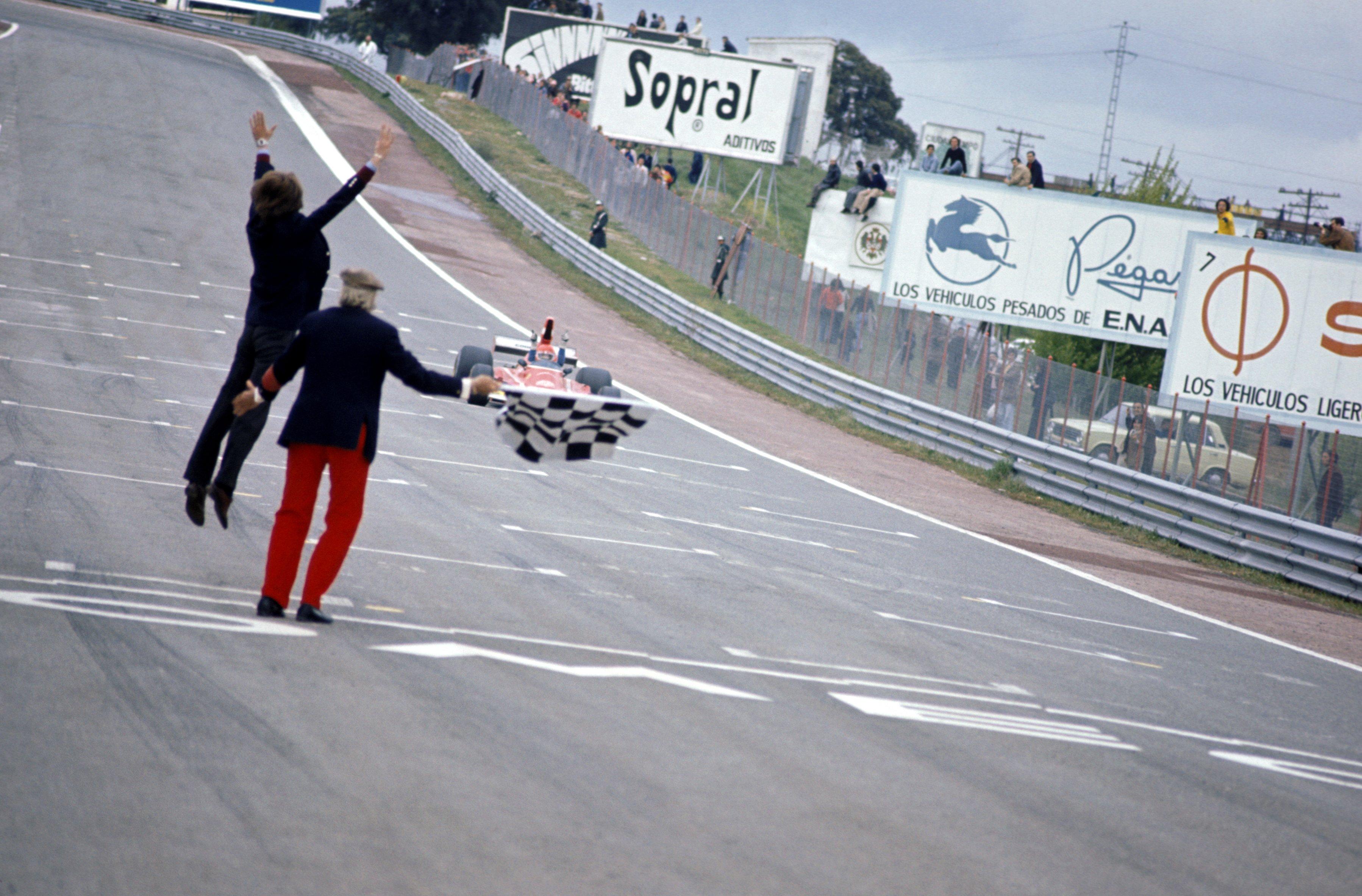 Circuito del Jarama - 1974 - Lauda y Montezemolo - Formula One World Championship