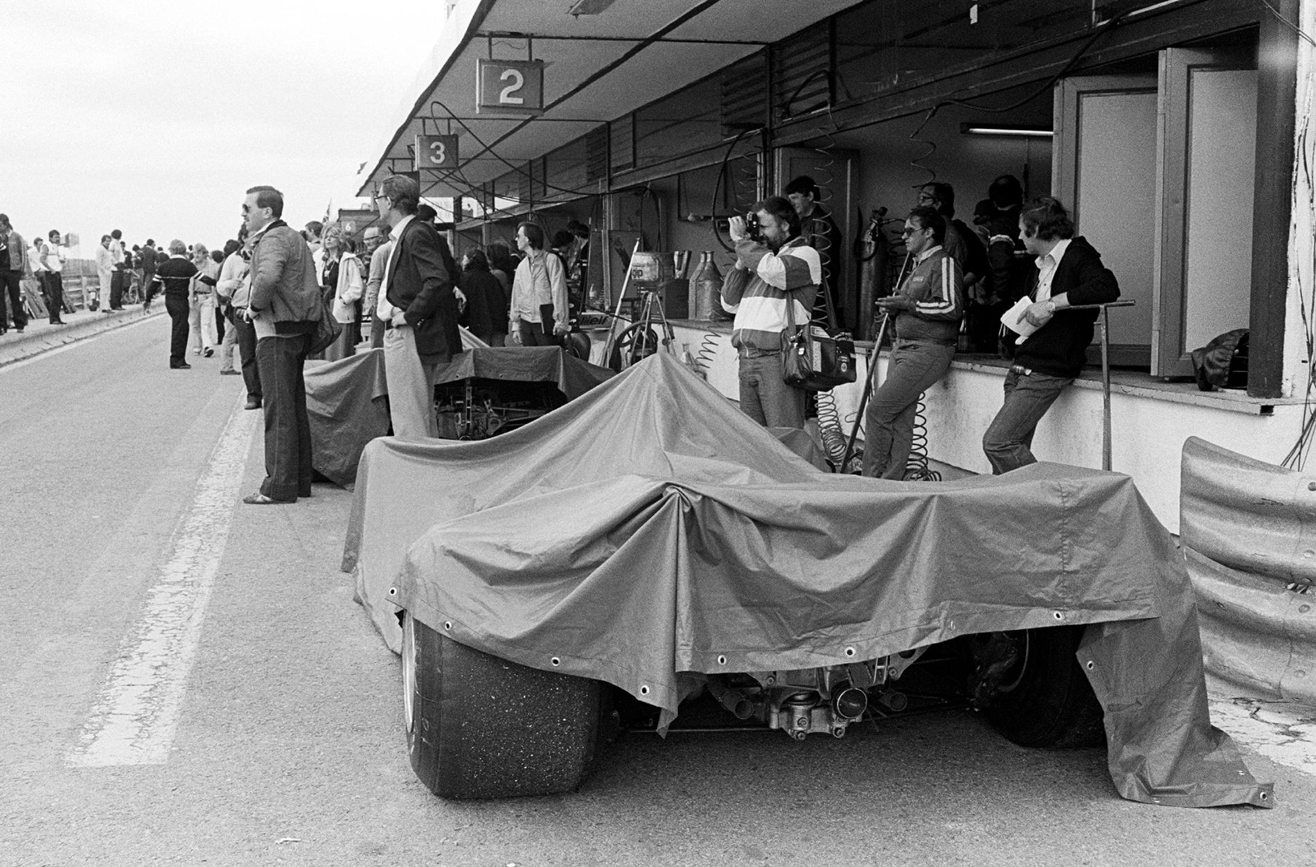 Circuito del Jarama - 1980 - Boxes