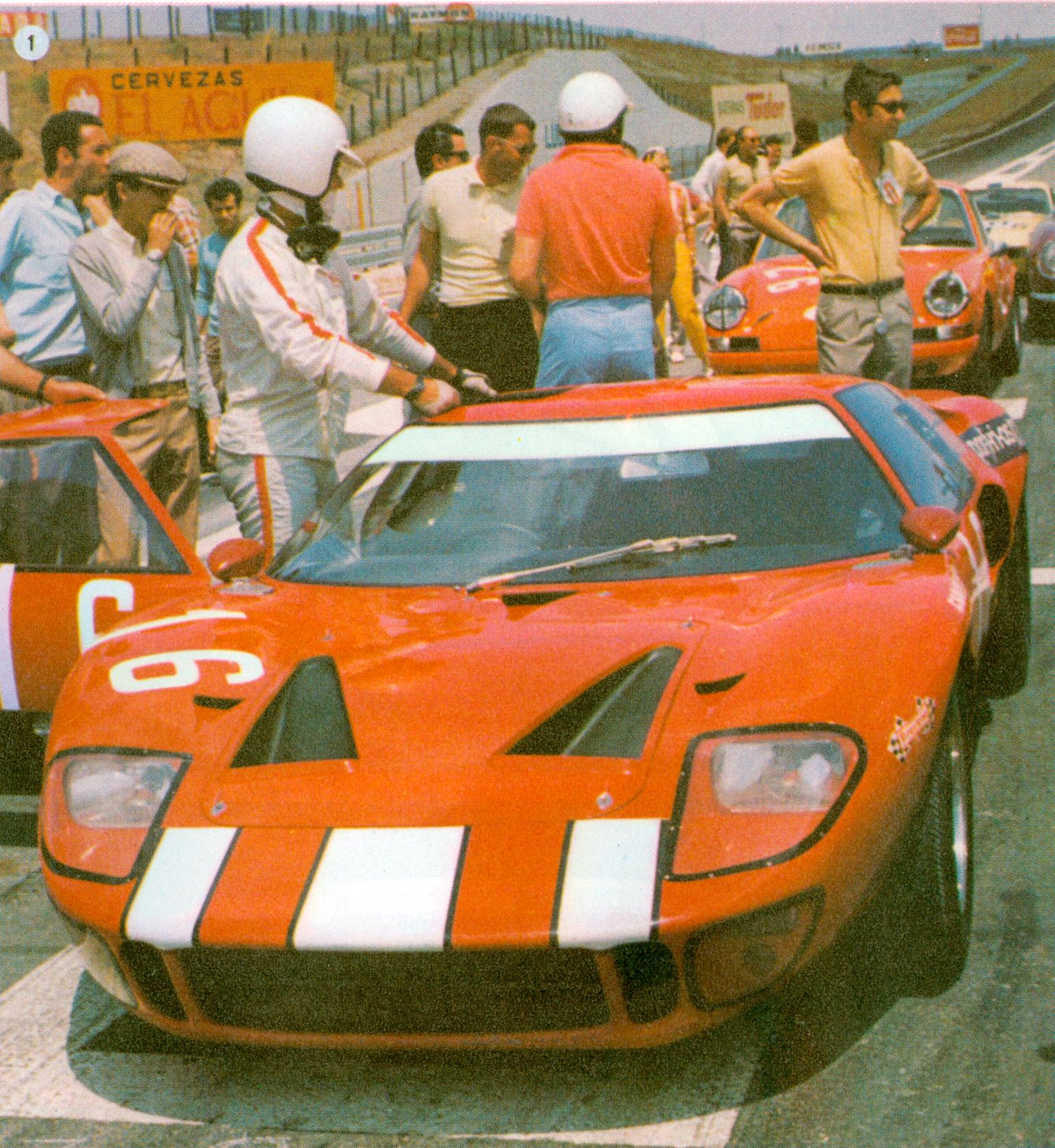 Circuito del Jarama - 1968 - 16 de junio - Carlos Gaspar
