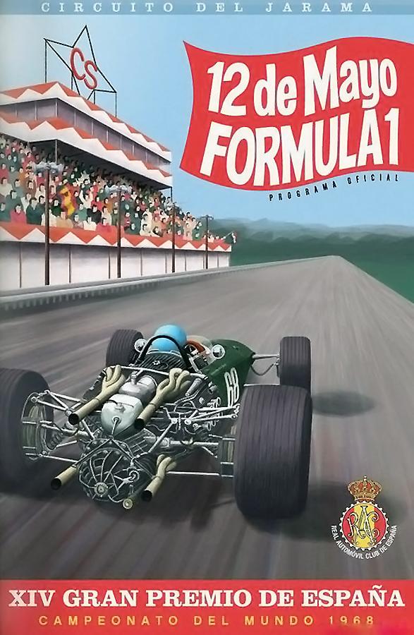 Circuito del Jarama Tour - 1968 Cartel