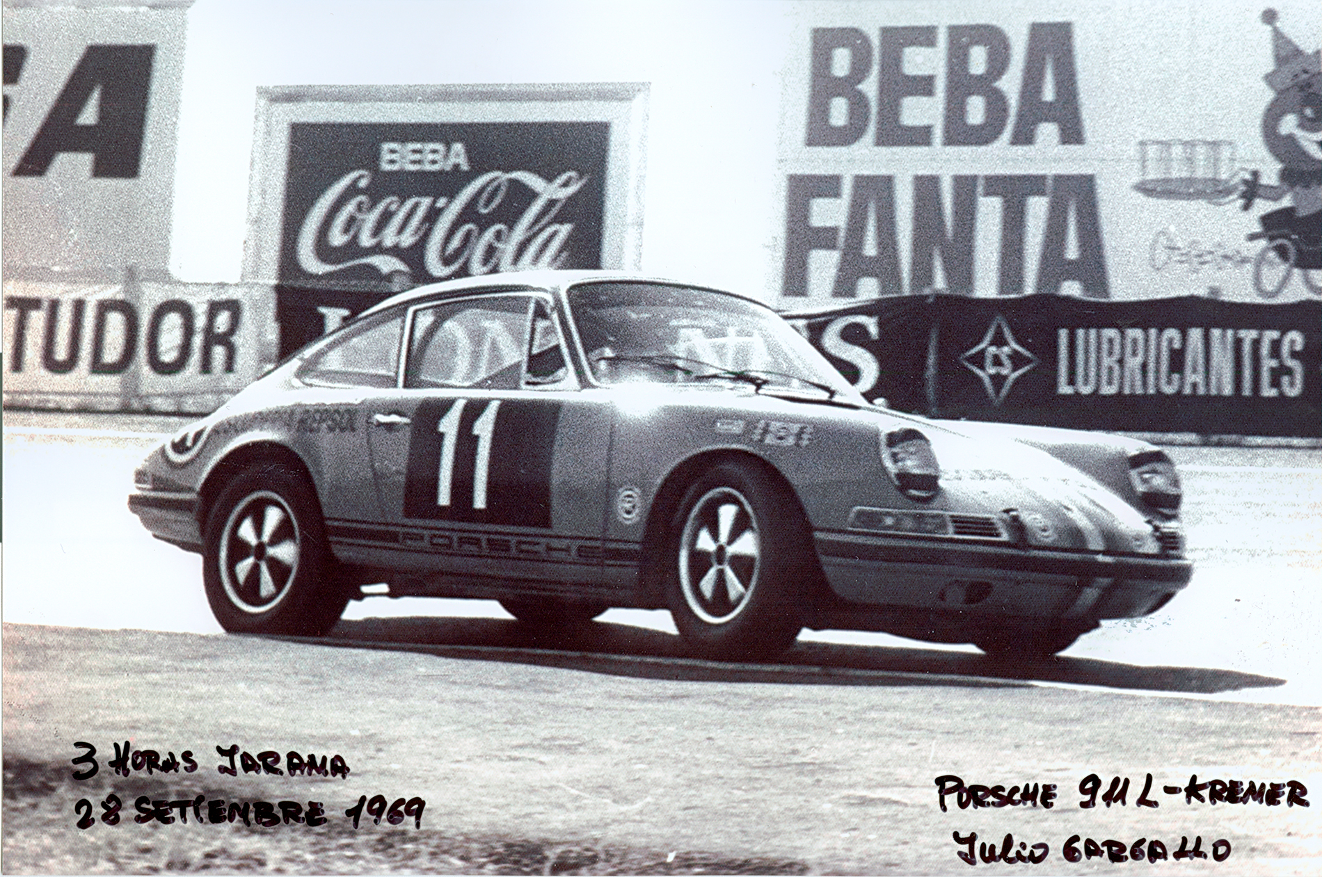 Circuito del Jarama - 1969 - J Gargallo - 3 horas Jarama - 911 - Kremer