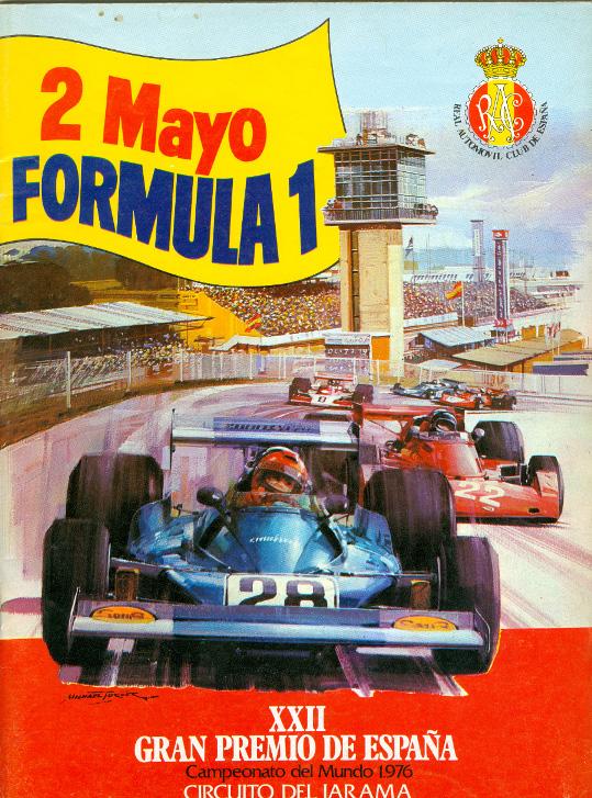 Circuito del Jarama Tour - 1976 - Cartel F1