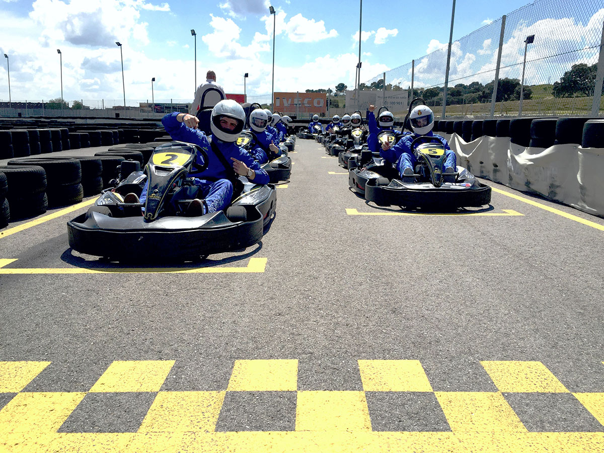 Circuito del Jarama - Parrilla salida karts