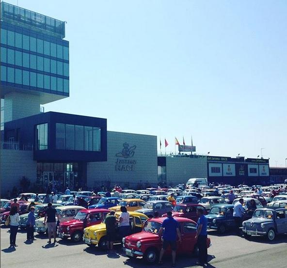 El 12 de mayo, el Circuito del Jarama - RACE se inundará de SEAT 124