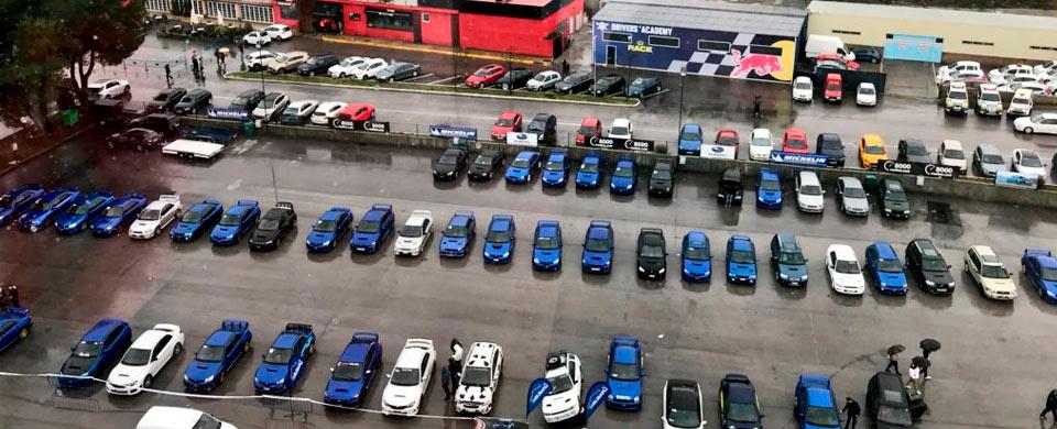 El Circuito del Jarama - RACE se llena de Subaru en el evento de 8.000 vueltas