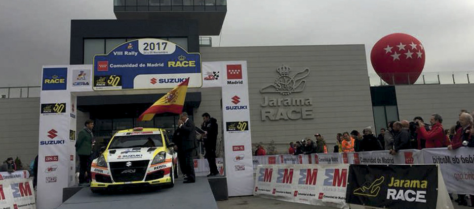 IX Rally Comunidad de Madrid RACE 2018