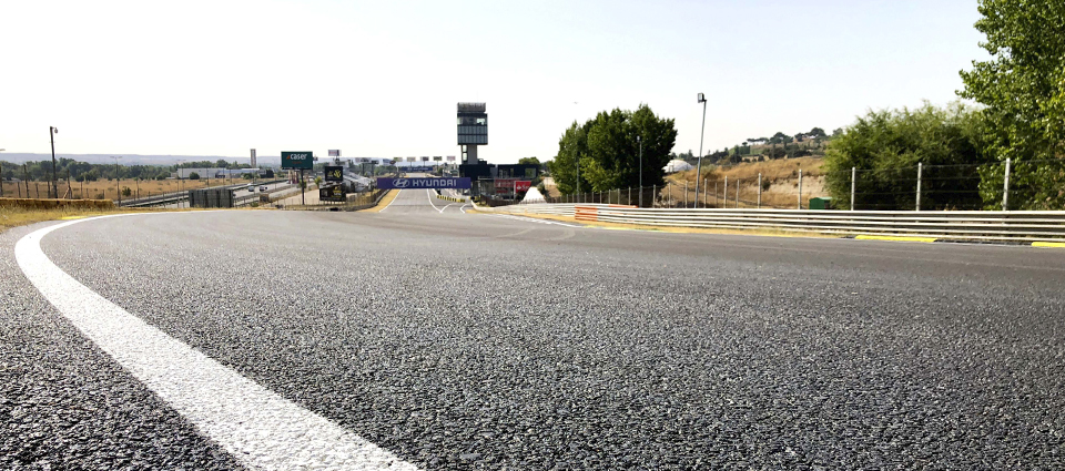 Jarama-RACE circuit opens this weekend showing its new pavement