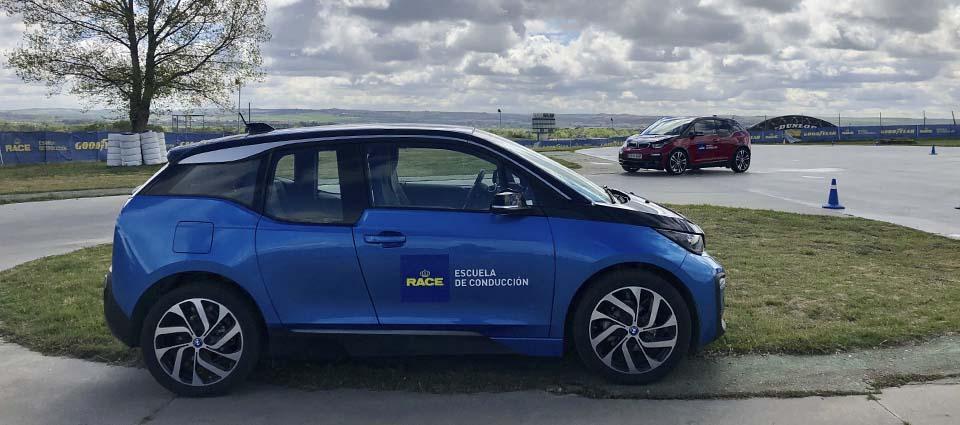 escuela-conducción-race-bmw-coche-eléctrico
