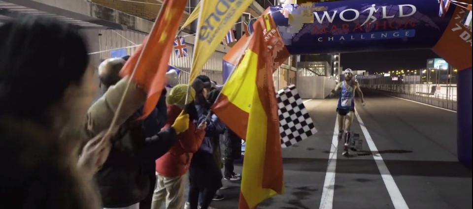 7 maratones en 7 continentes: España, representada por el Jarama