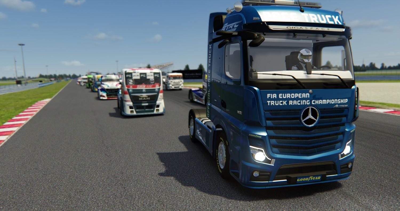 Cuarta carrera del Campeonato de Europa de Camiones Virtual, en directo y en español