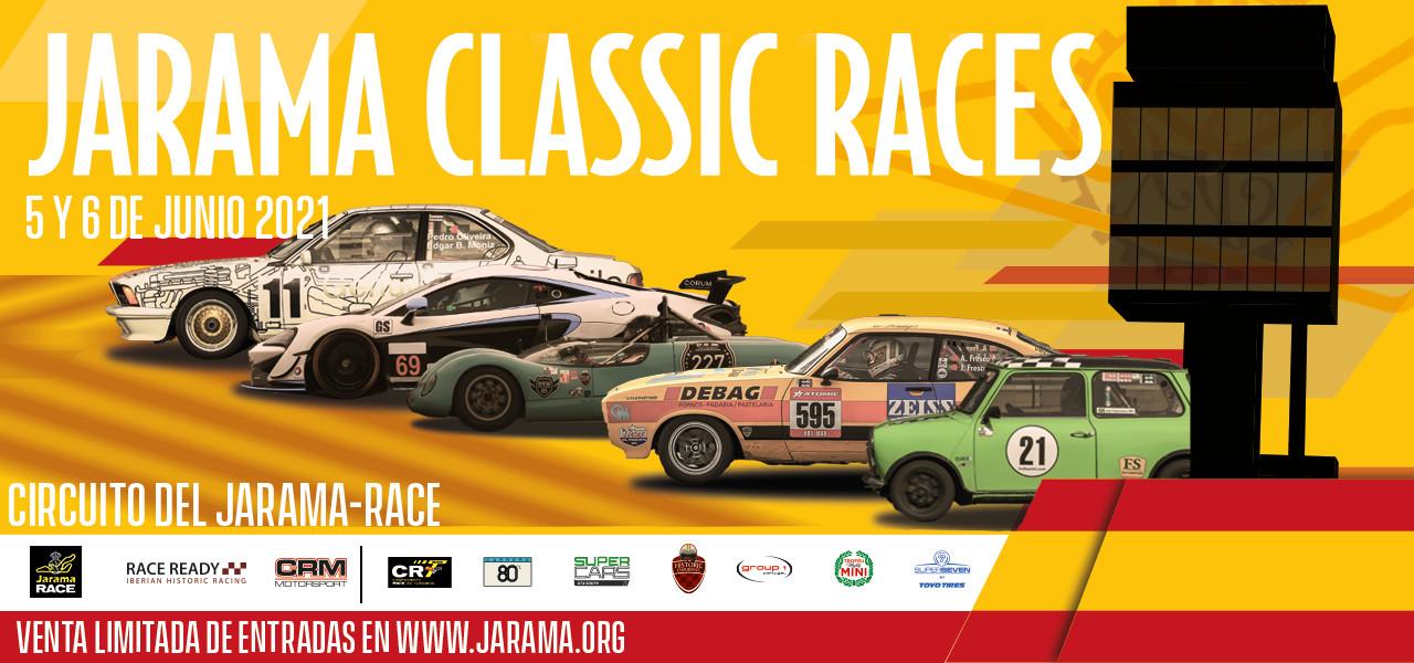 Este fin de semana vuelven las carreras de coches clásicos, con público, al Circuito del Jarama - RACE